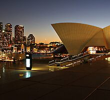 Sydney by twlight by Melrobphotos