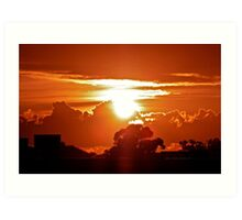 Gore Hill Sunburst Art Print