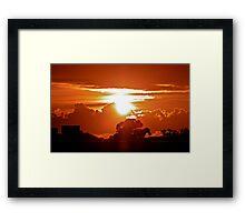 Gore Hill Sunburst Framed Print