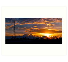 Gore Hill Sunburst 2 Art Print