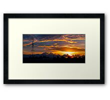 Gore Hill Sunburst 2 Framed Print