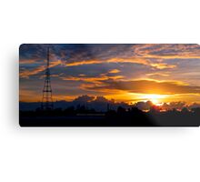 Gore Hill Sunburst 2 Metal Print