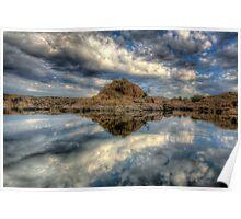 Watson Lake  Reflect 1 Poster