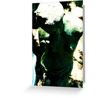 Carved. Greeting Card