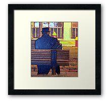 Corporate Man Framed Print