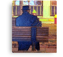 Corporate Man Canvas Print