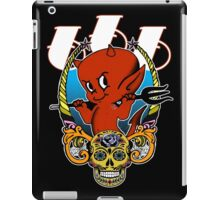 Little Red Devil & Sugar Skull! iPad Case/Skin