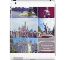 Disneyland's finest iPad Case/Skin
