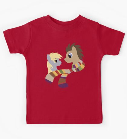 My Little Pony: Friendship is Magic - Dr Hooves and Derpy Hooves Kids Tee