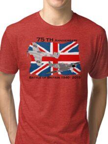 Battle of Britain 75th 1940 2015 Tri-blend T-Shirt