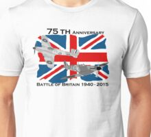 Battle of Britain 75th 1940 2015 Unisex T-Shirt