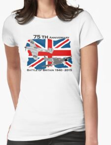 Battle of Britain 75th 1940 2015 Womens Fitted T-Shirt