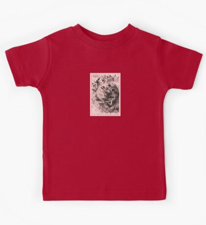 SHE GOT IN WITH A HOT, GAY CROWD, AND THAT WAS HER FINISH.   Kids Tee