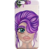 A Purple up do iPhone Case/Skin