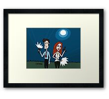 The X Files ... Mulder and Scully are Back  Framed Print