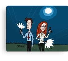 The X Files ... Mulder and Scully are Back  Canvas Print