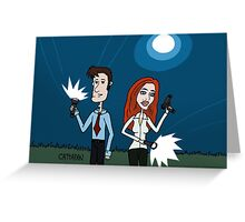 The X Files ... Mulder and Scully are Back  Greeting Card