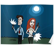 The X Files ... Mulder and Scully are Back  Poster