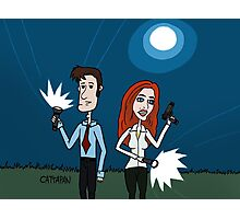 The X Files ... Mulder and Scully are Back  Photographic Print