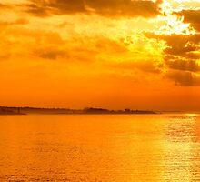 Coastal Sunrise by JoeGeraci