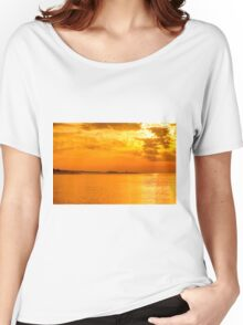 Coastal Sunrise Women's Relaxed Fit T-Shirt