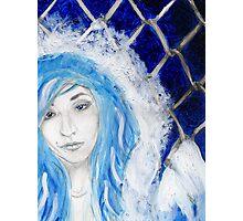 Blueviolet Photographic Print