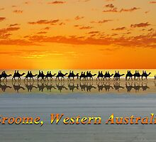 Broome, Western Australia, postcard by Julia Harwood