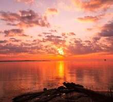 New England Sunrise by JoeGeraci