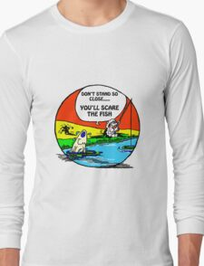 DON'T SCARE THE FISH Long Sleeve T-Shirt