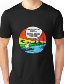 DON'T SCARE THE FISH Unisex T-Shirt
