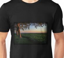 Golden Hour Valley View Unisex T-Shirt