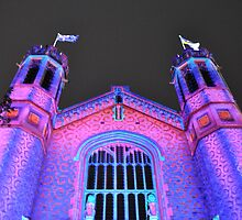 Northern Lights - Bonython Hall by bsn-photography