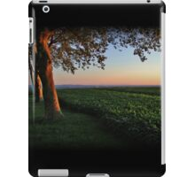 Golden Hour Valley View iPad Case/Skin