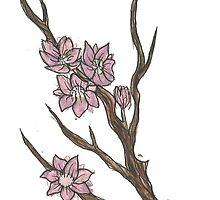 Cherry Blossoms by Underlandamy