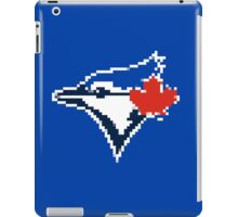 8 Bit Blue Jays Art iPad Case/Skin