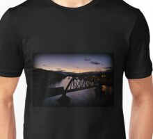 Hill To Hill Lehigh River Twilight Unisex T-Shirt