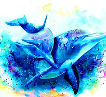 Dolphins by IsabelSalvador