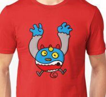 Panic 3 eyed monster cartoon Unisex T-Shirt