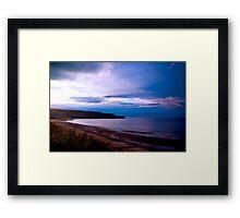 Sandsend Beach Framed Print