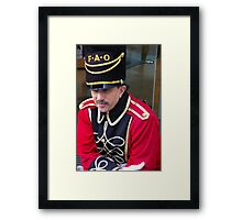 In Guard We Trust Framed Print