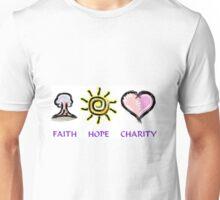 Faith Hope and Charity Unisex T-Shirt