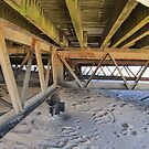 Under the Pier by Audrey Clarke