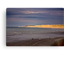 Sandsend to Whitby Canvas Print