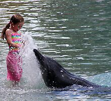 Water Play by Maureen Clark