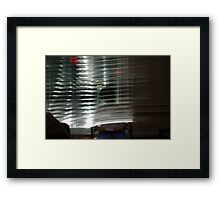 Waterfall of Lights Framed Print