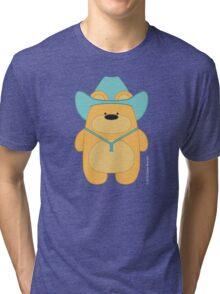 CowBear - Blond Tri-blend T-Shirt