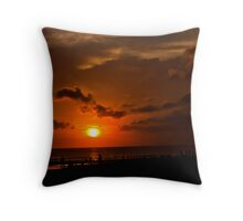 Seminyak Sunset. Throw Pillow