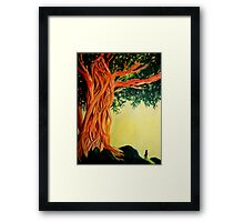 Red Giant Framed Print