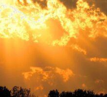 Heavenly Sunset Sticker