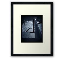 the night called to soothe Framed Print